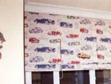 Çocuk Odası Arabalı Perde | Kreş-Anaokul