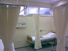 Hastane Yatak Bölmesi 4 | Perde