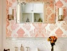 Mercan Renkli   Duvar Kağıdı